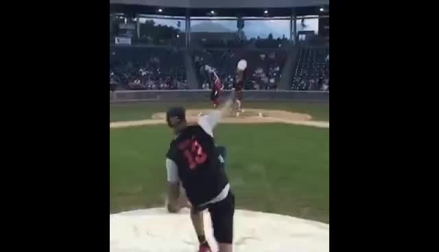 Watch and share Fastball GIFs and Softball GIFs on Gfycat