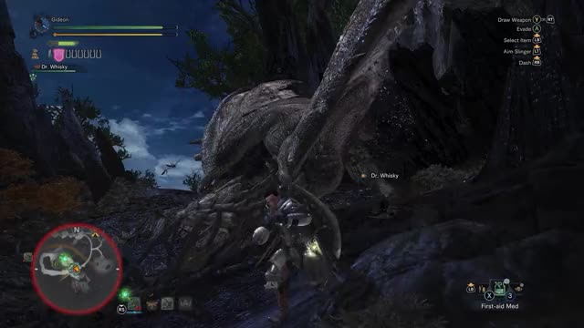 Watch MHW Rathian Waterfall GIF on Gfycat. Discover more related GIFs on Gfycat