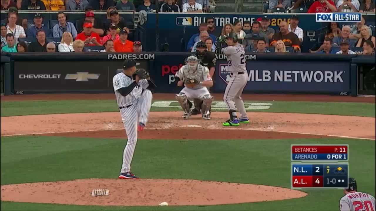 filthypitches, nationals, Insane break on Betances's curve GIFs