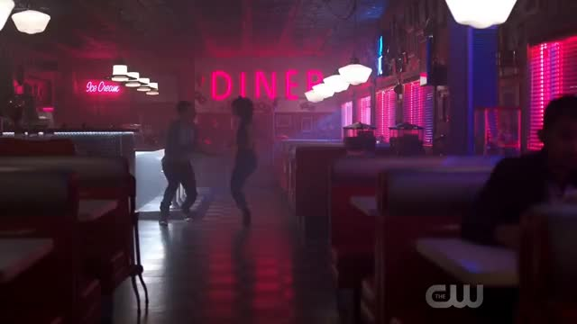 Watch and share Riverdale 2x07 Josie And Chuck Dance At Pops (2017) HD GIFs on Gfycat
