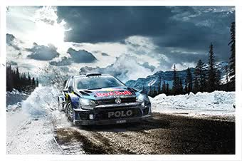 Watch and share Campaign: Volkswagen - WRC Gallery GIFs on Gfycat