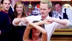 Watch and share Robin Scherbatsky GIFs and Barney Stinson GIFs on Gfycat