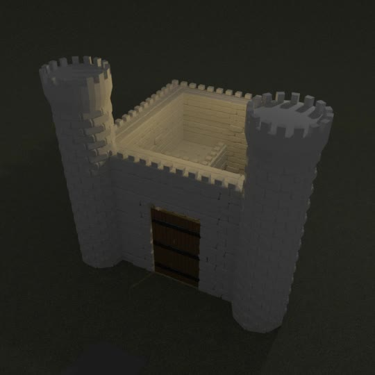 3d, amateur, castle, Castle GIFs