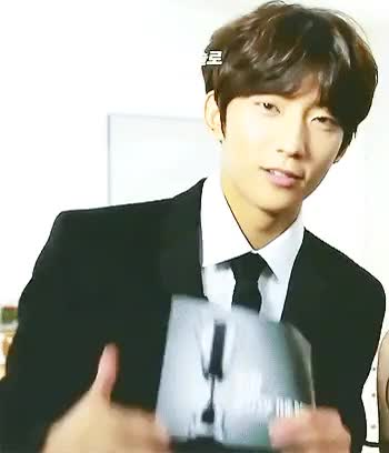 Watch The cutest MC(   `)* GIF on Gfycat. Discover more B1A4, Chansik >:3, Gongchan, Why are you being too cute Channie >:A, b1a4 gifs, kpop, my gifs, posproutgif GIFs on Gfycat