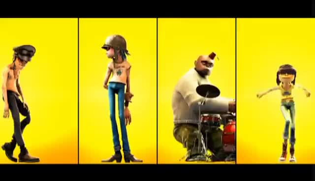 Watch this trending GIF on Gfycat. Discover more 2D, Deomon Days, Gorillaz, Murdoc, Noodle, Russel GIFs on Gfycat