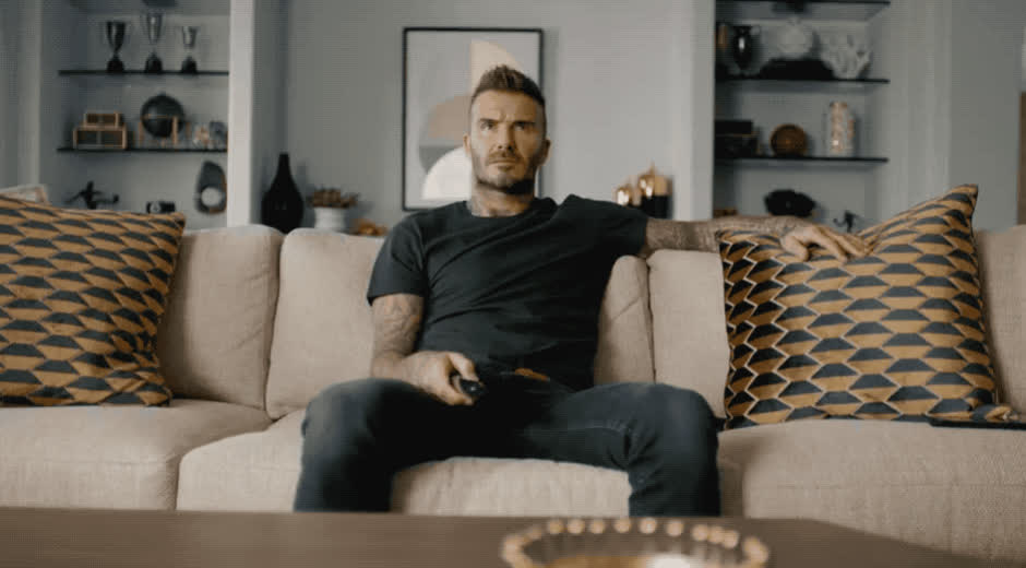 are, beckham, bored, boring, come, david, deadpool, doorbell, late, lazy, on, sofa, sunday, tired, tv, wait, waiting, watch, where, you, David is bored waiting GIFs