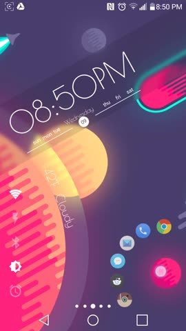 androidthemes, [Functional] Space (reddit) GIFs