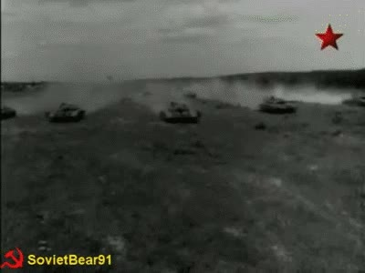 Watch and share Soviet Tank Wave GIFs on Gfycat