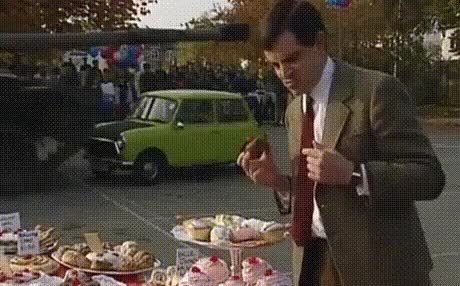 Watch and share Jeremy Clarkson GIFs and Rowan Atkinson GIFs by Yudha Jr.  on Gfycat