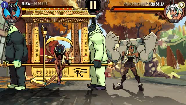 Watch Skullgirls Mobile - In Denile 1 GIF by moisterrific (@moisterrific) on Gfycat. Discover more related GIFs on Gfycat