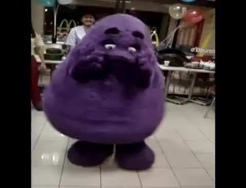 Watch Dancing Grimace GIF on Gfycat. Discover more related GIFs on Gfycat