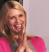 Watch and share Claire Danes GIFs and Laughing GIFs on Gfycat