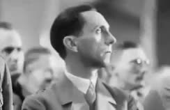 Watch and share Joseph Goebbels GIFs and Adolf Hitler GIFs on Gfycat