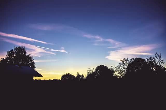 Watch Sunrise near Munich GIF by @sina12345 on Gfycat. Discover more plane trails, timelapse, weathergifs GIFs on Gfycat
