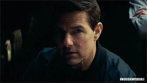 Mission Impossible, MissionImpossible360, action, blockbuster, epic, m.i., mission: impossible, missionimpossible, movies, paramount pictures, tom cruise, Tom Perplexed — Mission: Impossible - Fallout GIFs