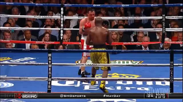 Watch Floyd Mayweather Jr vs Robert Guerrero - Highlights (Mayweather DOMINATES Guerrero) GIF on Gfycat. Discover more boxing GIFs on Gfycat