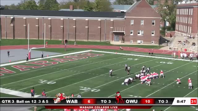 Watch and share Ncaa Division Iii GIFs and College Football GIFs on Gfycat