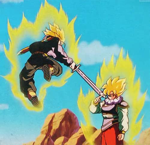 Watch and share Mirai Trunksssj GIFs and Dragon Ball Z GIFs on Gfycat