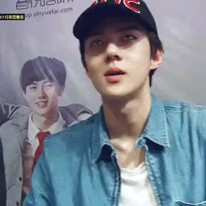 Watch and share Oh Sehun GIFs and Exo Gif GIFs on Gfycat