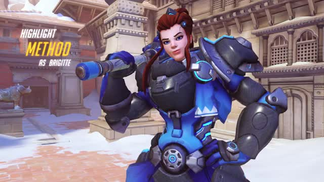 Watch and share Bridgette GIFs and Overwatch GIFs by Method on Gfycat