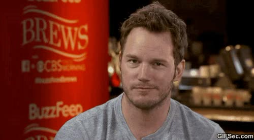 Watch and share Chris Pratt GIFs and Agreed GIFs by Reactions on Gfycat