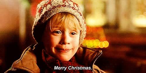 Watch and share Macaulay Culkin GIFs and Merry Christmas GIFs on Gfycat