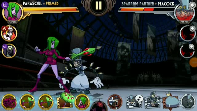 Watch and share Parasoul Combo V2 GIFs by stapan on Gfycat