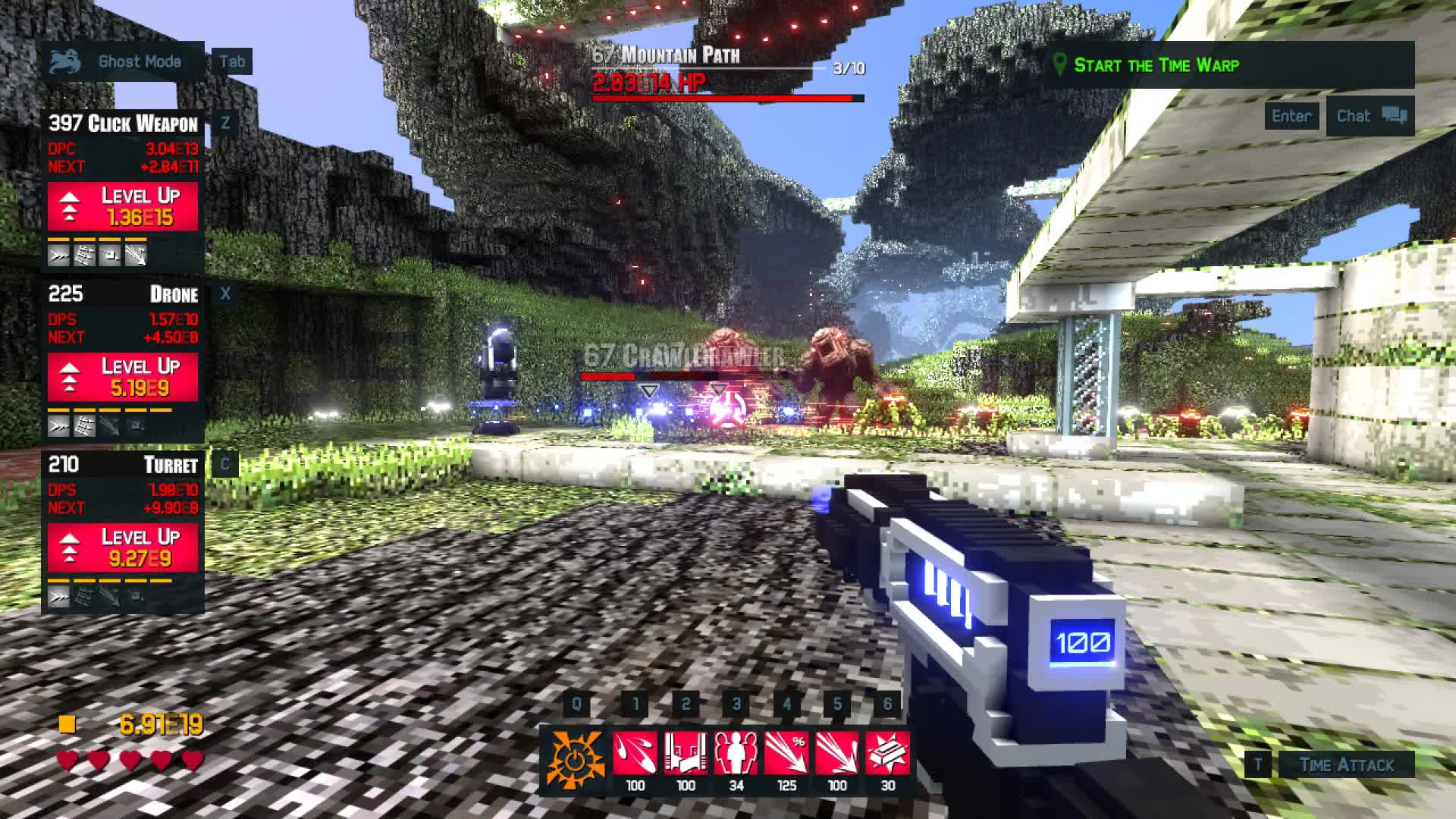 Clicker, FPS, Game, Incremental, Proton Studio, RPG, Time Clickers 2, Time Warpers, Video Game, Time Warpers Plasma Rifle GIFs