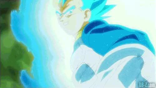 Watch and share Vegeta-SSGSS-vs-Goku-Black GIFs on Gfycat