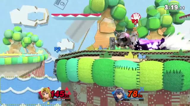 Watch and share Lucina Highlight: I'll Camp You Back :) GIFs by Black Pup on Gfycat