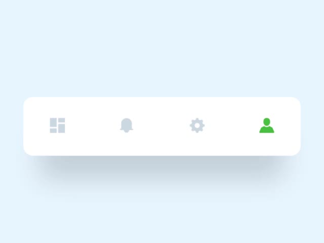 Watch and share Tab Bar Animation GIFs by bazookasthlm on Gfycat