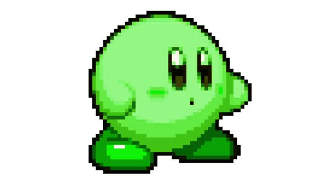 Watch and share Kirby Rainbow GIFs and Pixel GIFs by Brent Mealey II on Gfycat