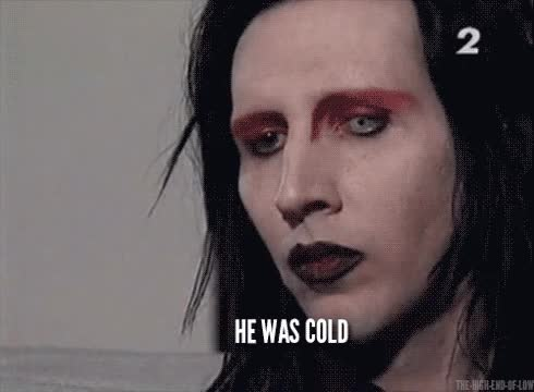 Watch gif Marilyn Manson i know katie has already done it but i hat to do with the subtitles.. GIF on Gfycat. Discover more marilyn manson GIFs on Gfycat