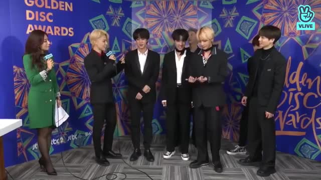 Watch and share [CC ENG] 190106 BTS Backstage Interview @ 2019 GDA  - Promise - Jimin GIFs on Gfycat