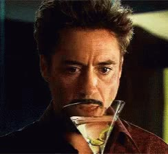 Watch Martini Tony GIF on Gfycat. Discover more robert downey jr GIFs on Gfycat