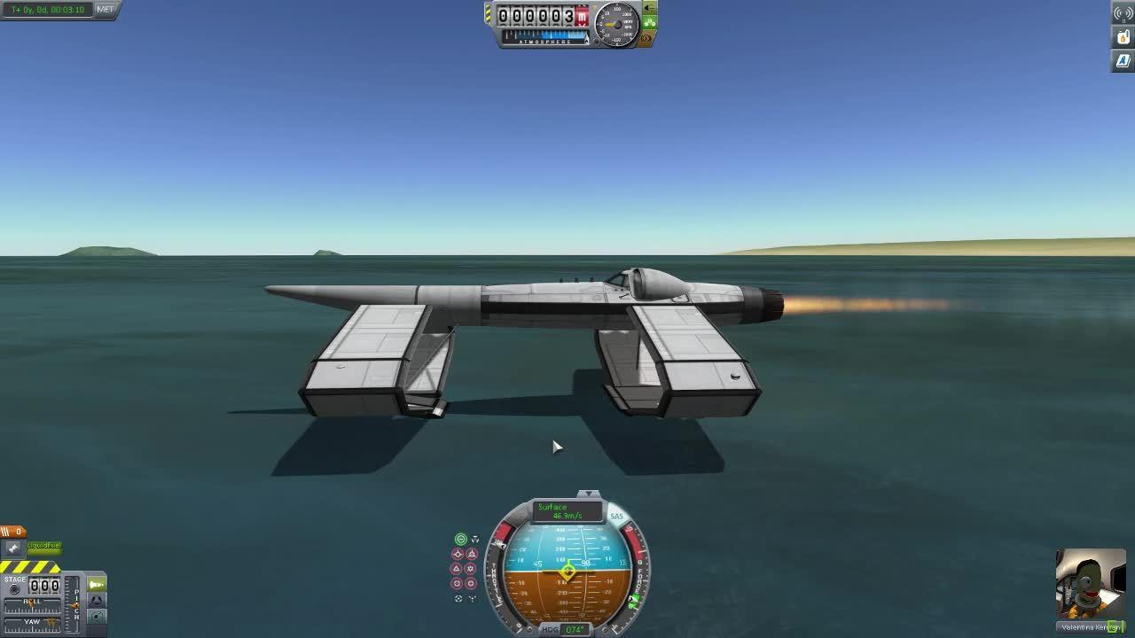 kerbalspaceprogram, Kerbal Space Program: Hydrofoil GIFs