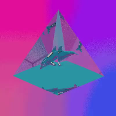 Watch this GIF on Gfycat. Discover more c4d, dolphin, gif, looping, vaporwave GIFs on Gfycat