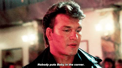 Watch and share Patrick Swayze GIFs on Gfycat