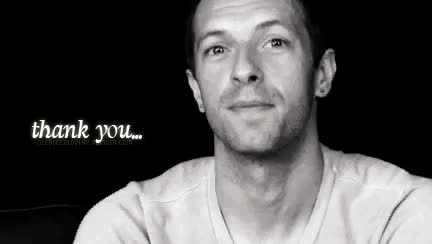 Watch and share Chris Martin GIFs and Thank You GIFs on Gfycat