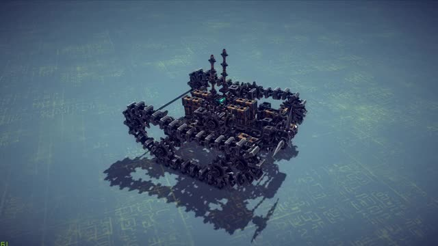 Watch and share Besiege GIFs and Tank GIFs by james_bond on Gfycat