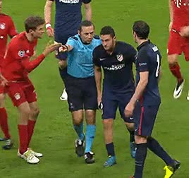 Müller screaming JUST GOOOO! at Koke : fcbayern GIFs