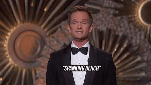 Watch Spanking Bench Oscars GIF on Gfycat. Discover more neil patrick harris GIFs on Gfycat