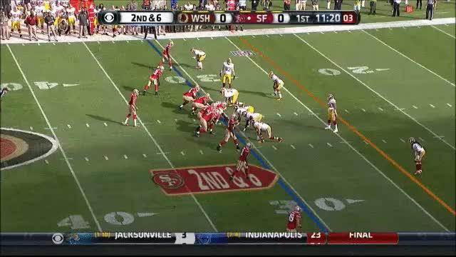 Watch and share Kap TD Boldin Redskins GIFs by mrg80 on Gfycat