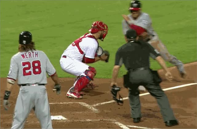 Watch and share Danny Espinosa GIFs and Cameron Rupp GIFs by elflady on Gfycat