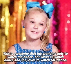 *, I love you so much, and great, and just akjsdlksdf, and sunshiney, bby, dance moms, jojo siwa, she's so sweet and kind and intelligent, #maddieface GIFs