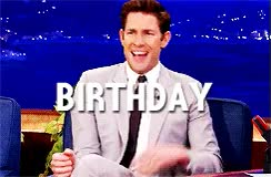 Watch and share John Krasinski GIFs and Birthday GIFs on Gfycat