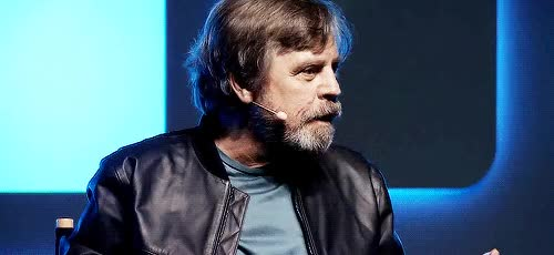 Watch and share Markhamill GIFs and Starwars GIFs by Reactions on Gfycat