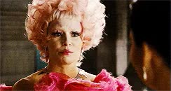 Watch and share 1k Gifs Catching Fire Effie Trinket Cfedit By Simon GIFs on Gfycat