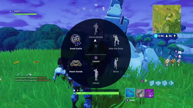 Watch and share Fortnite Battle Royale (5) GIFs on Gfycat