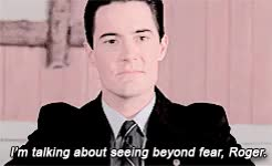 Watch and share Kyle Maclachlan GIFs and Agent Cooper GIFs on Gfycat